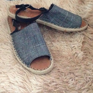 New Toms Clara Espadrilles Sandals